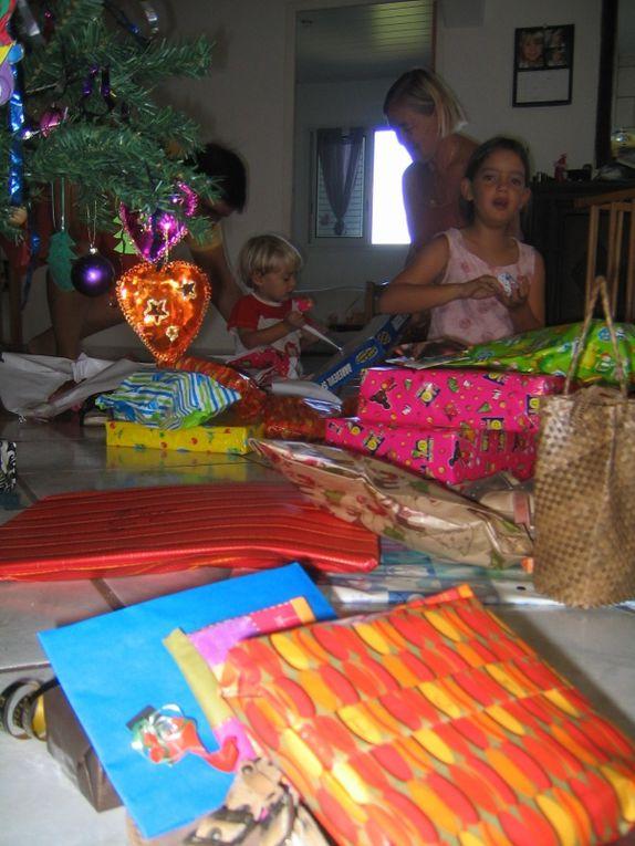 Noël en famille au Tampon avec ma maman et Seb, LN et leurs 2 enfants