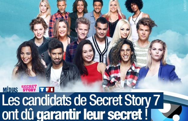 Les candidats de Secret Story 7 ont dû garantir leur secret ! #SS7