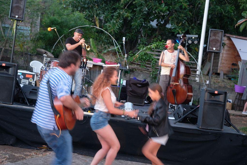 CR de la journée du 24 juin à Yourte en scène à St-Leu La Réunion