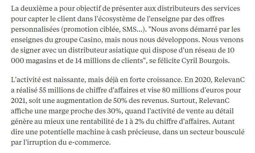 Dans les médias (237) : L'Express : quand la grande distribution fait de l'or avec vos données