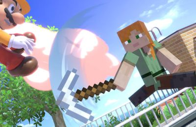 Super Smash Bros. Ultimate – Steve et Alex (Minecraft) seront disponibles dès le 14 octobre