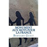 Amazon.fr : choix d'achat : Monument aux Mots pour la France