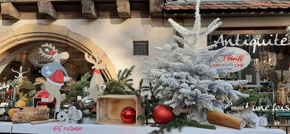 2020 Les décorations de Noël à Colmar