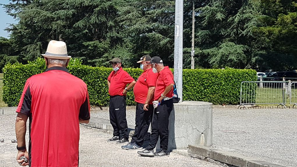 Roquefort sur Garonne - qualificatif Comminges vétérans