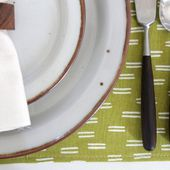 New One Minute Video: How to Make a Fabric Placemat