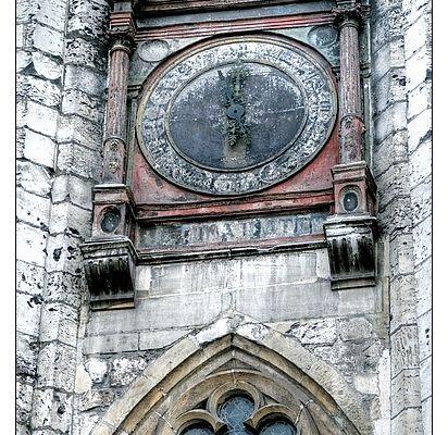 Rouen : Quelques détails de l'église saint Vivien