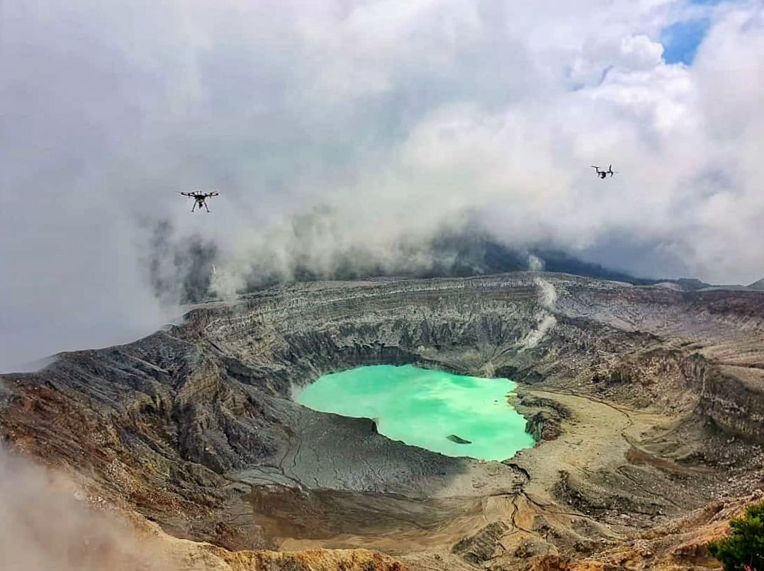 Poas - photo drones 09.06.2021 - Foto Manuel HC GEOINN / Geospatial Innovations - via Maria Martinez
