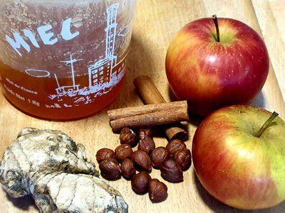 Recette du beurre de pomme au miel et épices