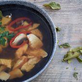 Soupe Tom Yum - Graine d'Epices