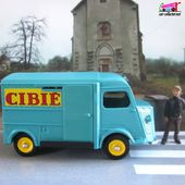 CITROEN TUB TYPE H CIBIE 1200KG DINKY TOYS 1/43 REEDITION ATLAS - car-collector