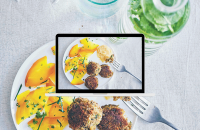 Comment faire des boulettes de thon façon croquettes & condiment au citron