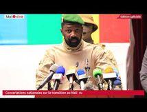 Dernière journée de concertation sur la transition au Mali