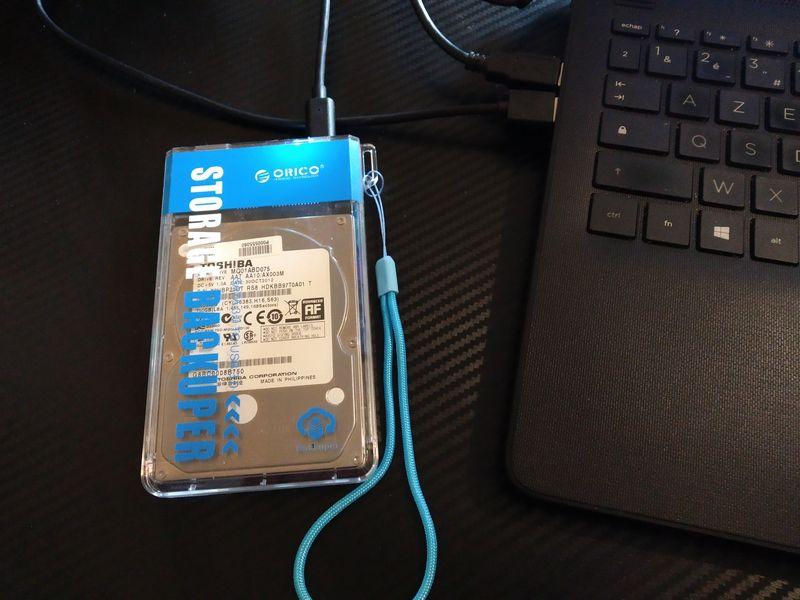 notre avis sur le boîtier nomade pour disque dur - ORICO Backuper @ Tests et Bons Plans