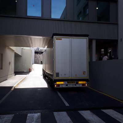 Le 181ème camion d'AIMA part d'Aix-en-Provence pour la Lituanie