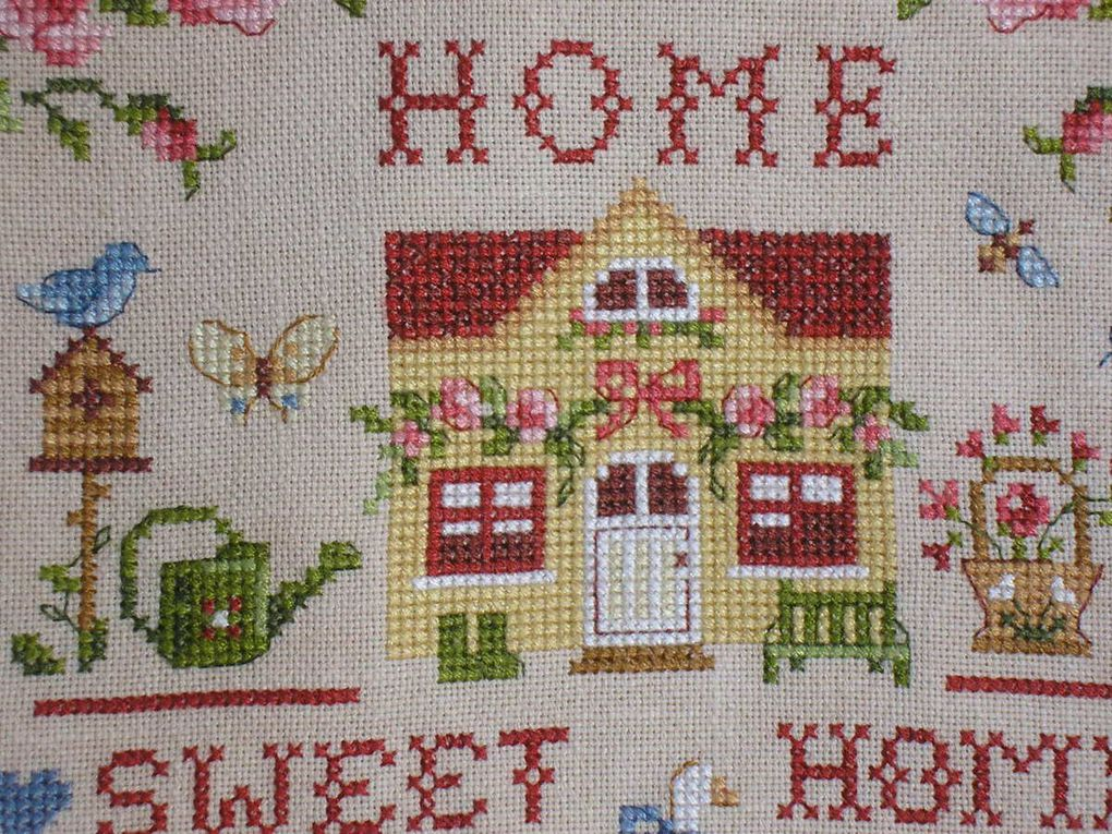 "Tableau ""Home Sweet Home"" de Véronqiue Enginger"