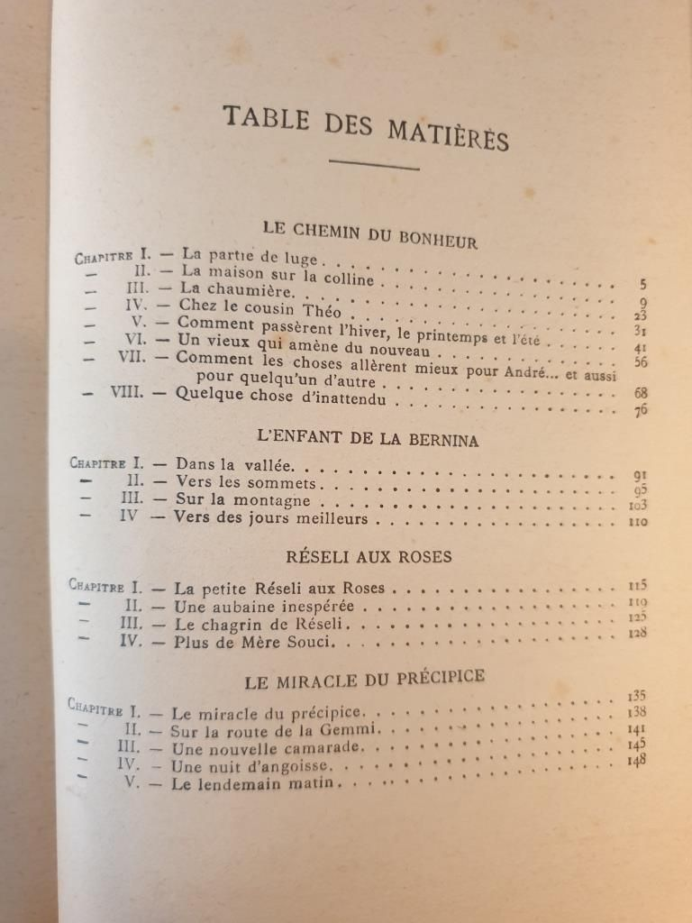 AU PAYS DE HEIDI 1941 JOHANNA SPYRI - 11 euros