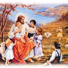 LAISSEZ VENIR À MOI LES PETITS ENFANTS, Extrait de l'Évangile selon le Spiritisme - chapitre VIII
