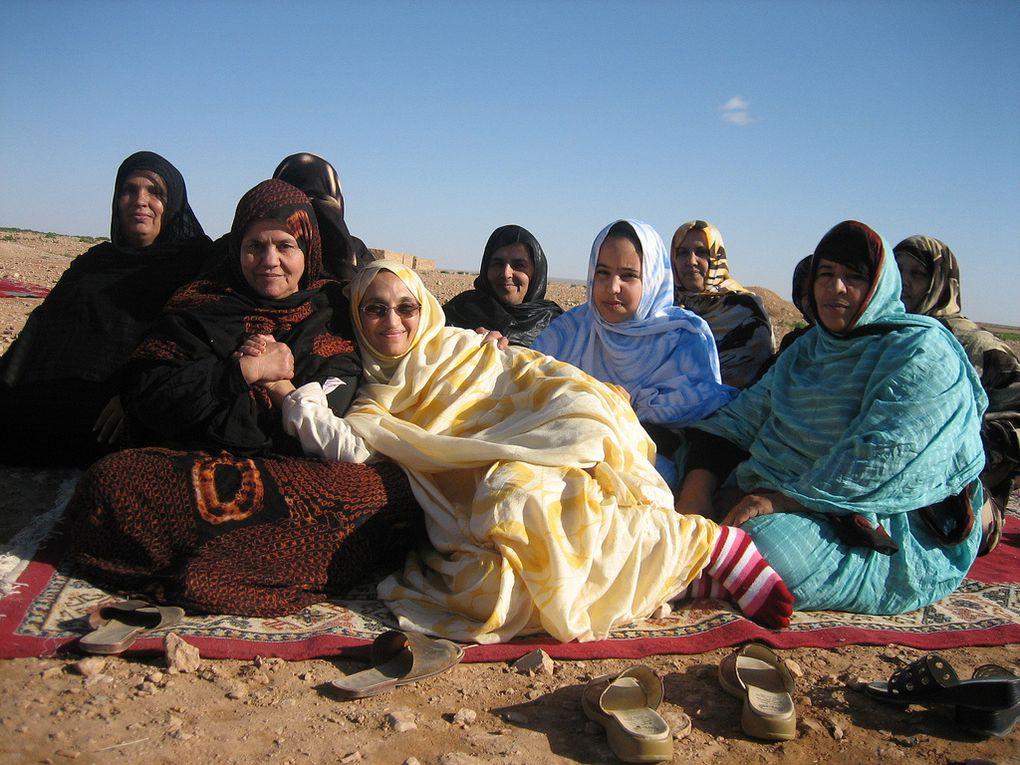Imágenes pueblo saharaui.- El Muni
