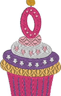 Cupcakes, le chiffre 0