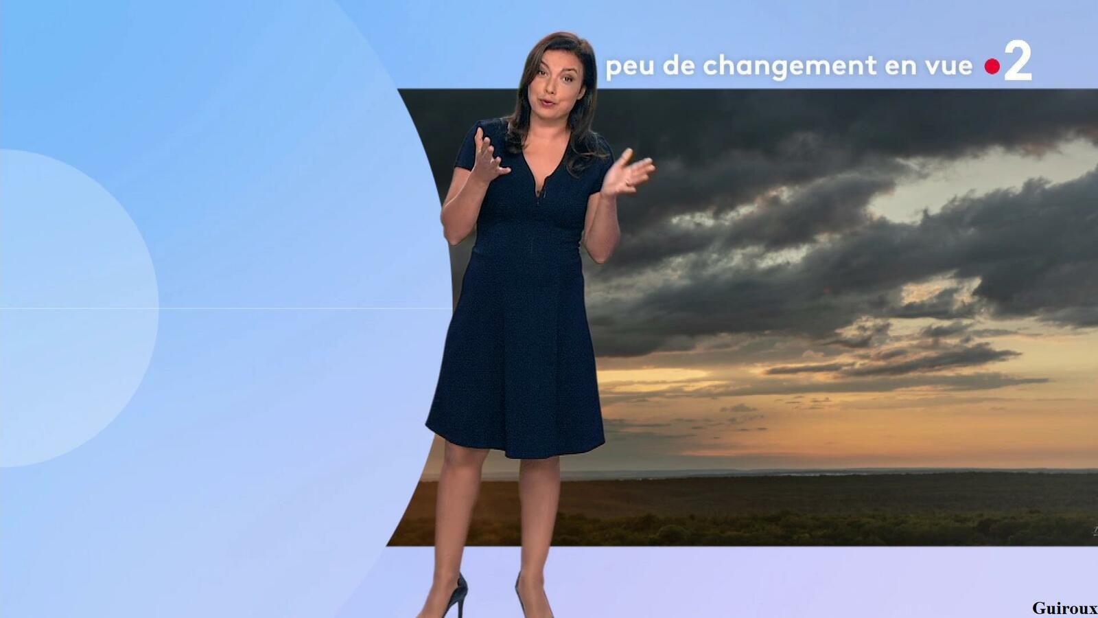 Anaïs Baydemir 01/08/2021 Journaux météo du soir + Météo des plages
