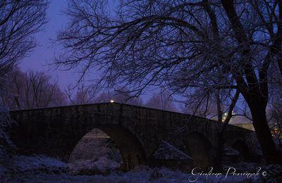Ponte San Vito con la neve