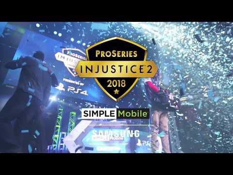 ACTUALITE : La deuxième saison annoncée d' #Injustice2ProSeries Presented by Samsung and SIMPLE Mobile