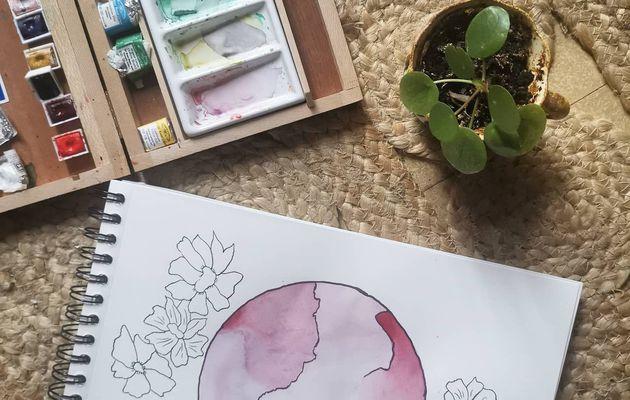 Comment j'ai commencé l'aquarelle
