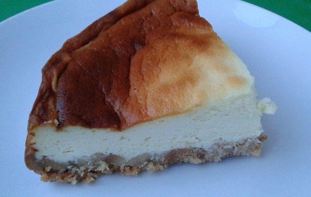 Cheesecake léger noix de coco - citron