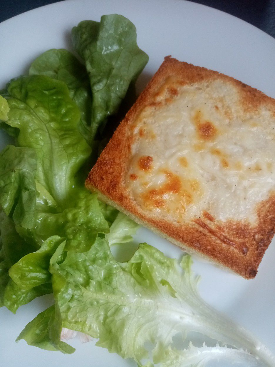 croque monsieur chorizo