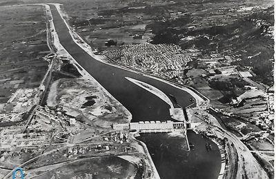 Vue Aérienne du Barrage de Donzère (N°19 CV)
