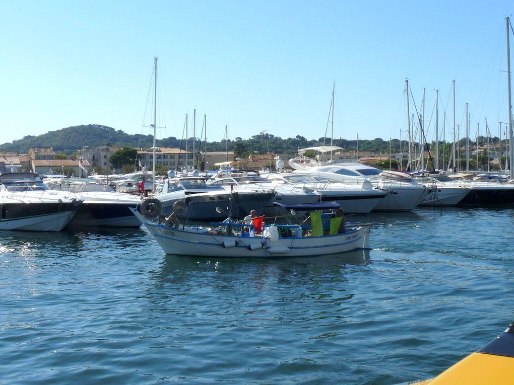 LOUIS SEBASTIEN , TL 653792  dans le port de Saint Tropez le 25 aout 2016