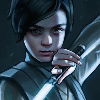 RT @mjathols: Arya Stark Becomes a Jedi in This...