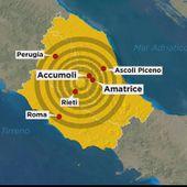 Fort Séisme en Italie: un séisme de magnitude 6,2 fait au moins dix morts dans le centre du pays - MOINS de BIENS PLUS de LIENS