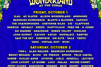 Tiësto vidéos | Beyond Wonderland | Gorge, WA - october 01, 2021