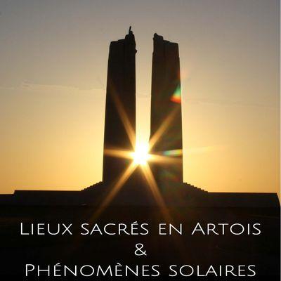 """Visioconférence publique de Philippe Boukni sur""""Lieuxsacrés en Artois et phénomènes solaires»"""