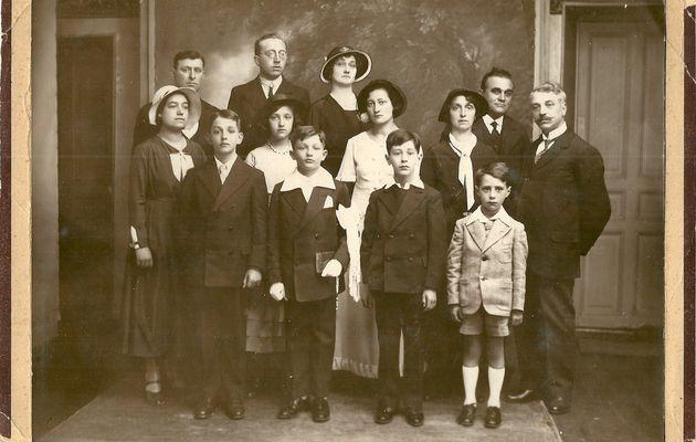 Les familles ARDANUY LAUZE JARLIER-SYLVESTRE réunies