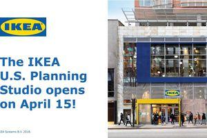 Ikéa lance un ''studio de planification d'habitat urbain'' à Manhattan.