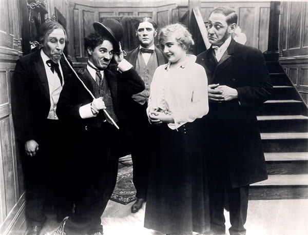 Charles Chaplin, Paddy McGuire, and Ernest Van Pelt in The Tramp (1915) - Charles Chaplin, Lloyd Bacon, Paddy McGuire, Edna Purviance, and Ernest Van Pelt in A Jitney Elopement (1915) - Lillian Hamilton and Paddy McGuire in Lured and Cured (1917)