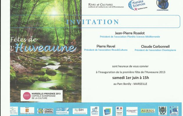 Invitation Borely 1 juin 2013