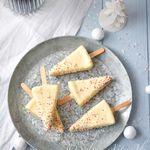 Sapin blanc cheesecake
