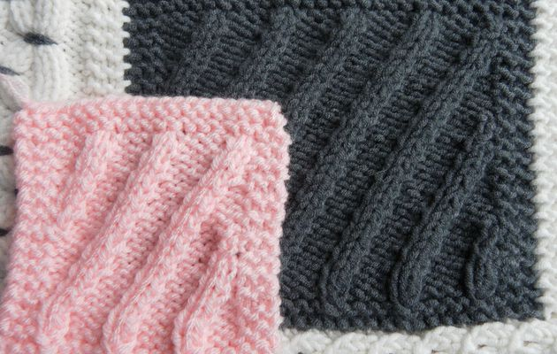 Boucle d'Or Afghan KAL : square 14