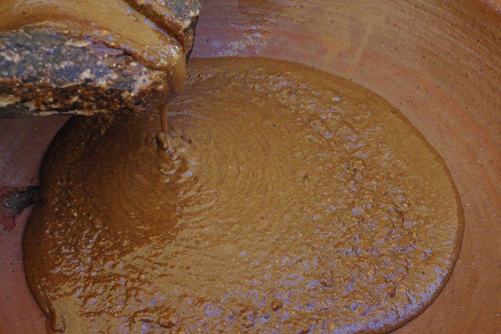 Fabrication de l'huile d'argan