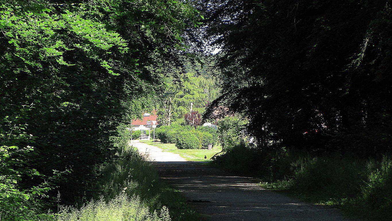 le carrefour du Marais de Saint-Léger