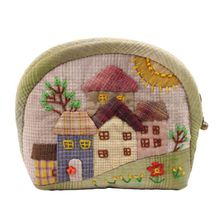 Colored House  Purse DIY Patchwork Sewing Kit Creative Present by TheSewShow on Etsy