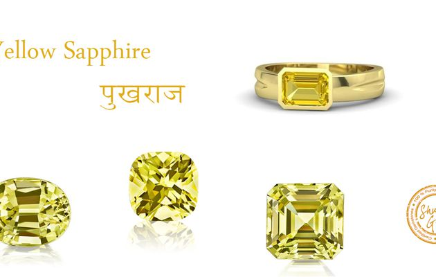 Yellow Sapphire Stone: Detail Information about yellow Sapphire