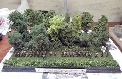 INFANTERIE PRUSSIENNE A WATERLOO ......LE DIORAMA