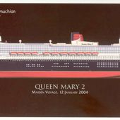 """Queen Mary 2"" (""QM2"") : du projet à la cérémonie d'inauguration / From the project to the naming ceremony - paquebots.net"