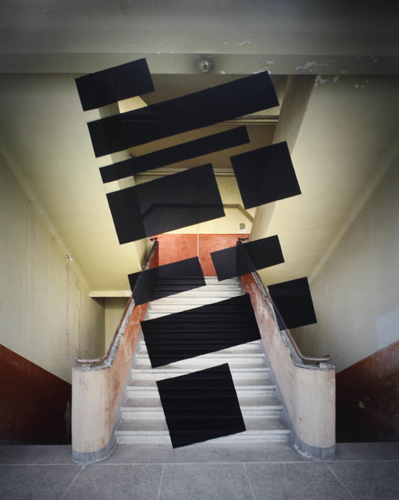 """""""Chambery"""", 2008 de Georges ROUSSE - Courtesy de l'artiste et galerie RX  © Photo Éric Simon"""