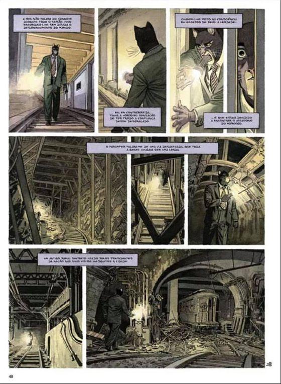 Tome 6 Blacksad - Alors, tout tombe (Première partie) Le retour du détective Blacksad 😏