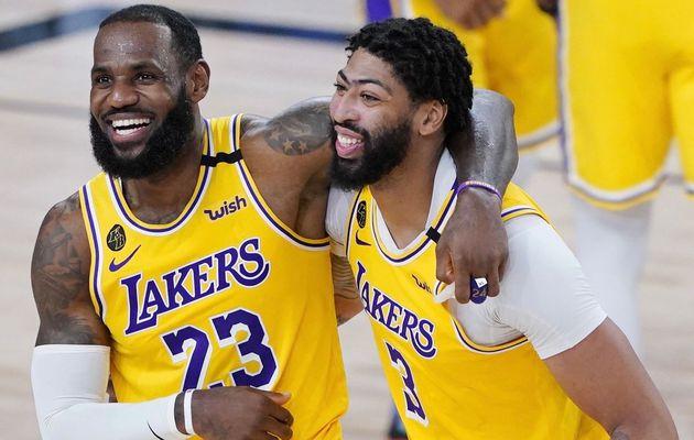 LeBron James et les Lakers en tête des ventes de maillots NBA en France et en Europe pour la deuxième année consécutive